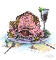 Ninja Turtles _ Yummy Krang! by Agregor