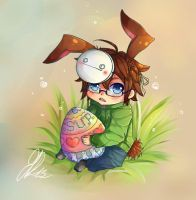 Easter-bunny (cry-version) by anemontaglub
