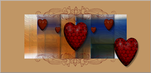 Heart Place Cards by GypsyH