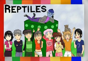 The Reptiles by Pink--Reptile