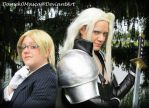 Lazard and Sephiroth by Damek0Masca