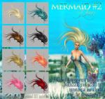 Mermaid #2 HAIR STOCK by Trisste-stocks