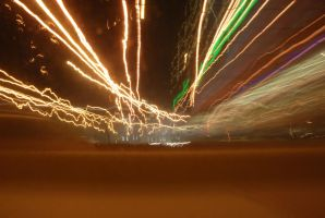 Light trails. by S34nny