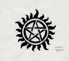 supernatural tattoo by Marky306
