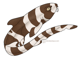 Shark Week- Brownbanded Bamboo by afterfire