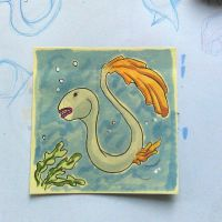 Post-It Creatures #3 by tanggod