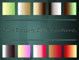Just Desserts GIMP Gradients by Jedania
