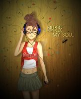 Music Has Taken My Soul by MabelRomero