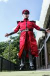 M. Bison - Street Fighter V Cosplay by robthez