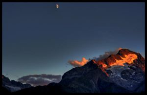 moon sunset 01 by lalas