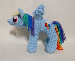 Rainbow Dash new pattern by gwilly-crochet