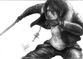 Squall Leonhart by blacksignpanslash