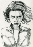 Black Widow by Fellhauer