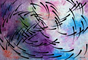 Movement Abstract by jfkpaint
