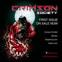 Crimson Society issue#1 ON SALE now!!! by CTrigo