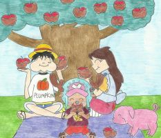 One Piece: Caramel Apple Tree by the-ocean-sings