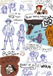 One Piece Doodles by MonkeyDSophie