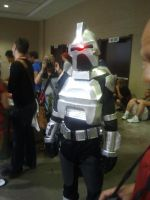 FanExpo 2012 - CYLON Robot Cosplay by RYUSUSKE