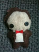 11th Doctor Plushie by CheesyHipster