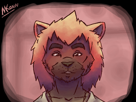 Random Cute Lion by Konamon