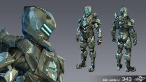 Halo 4 Armor Suit - Venator by JoshEH-Photo