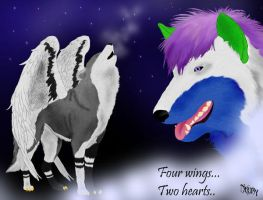 Two_hearts_Four_wings by Neury