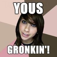 Yous Gronkin by TheStrawberryField