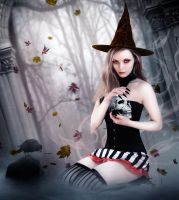 Little Miss Witch by InertiaRose