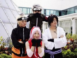 shippuden team 7 by Forkninja