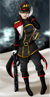 Commissar Conna Dalvar by FrostedWhisper