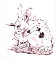 .:Nidoran Male:. by silverwerwolf