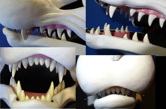 Snarly Mask with jawset by DreamVisionCreations