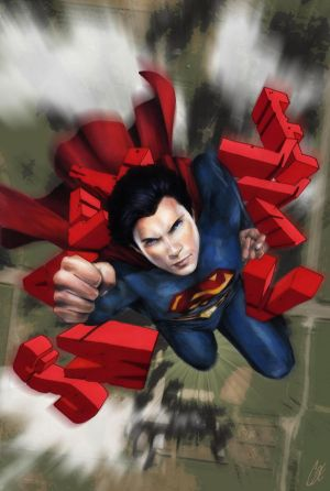 Smallville Season 11 Cover No 1 by gattadonna