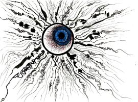 Eye Explosion by WWKnauth