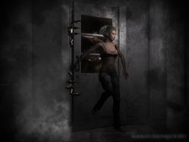 The Beast At The Door by karibous-boutique