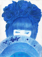 Blue Girl - Fan Collection by MariCastro