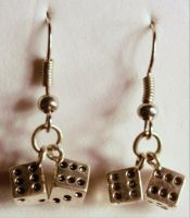 Lady Luck Earrings by TheOriginalAKTREZ