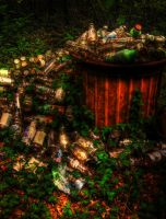 Bottles of HDR by RyoThorn