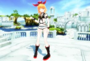 MMD Newcomer Dirty Rin by Anna-chama