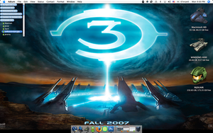 CUSTOM ICONS - Halo 3 Screen by Emn1ty