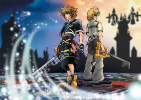 KH2 - One Sky One Destiny by blackwing-dias