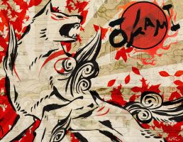 Okami Amaterasu Design by KyleRobinsonCustoms