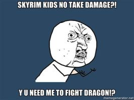 Y U NO SKYRIM by Discoerd