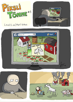 FarmVille vs. Goat Simulator by crashgordon