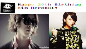 Happy birthday Heechul! by sharkgirl98