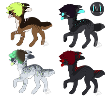 flatsale adopts 1/4 OPEN by Bix-adoptables