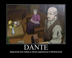 FMA Demot: Dante in Brotherhood!? by Angel-of-Alchemy-42