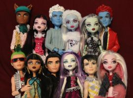 Monster High Couples by rainbow1977