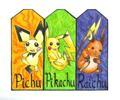 Pokemon Bookmarks 1 by GosterMonster