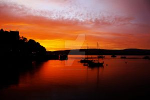 Tobermory Sunrise by DeliciousApple